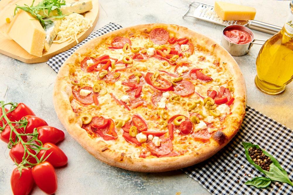 Pizza A la Grec