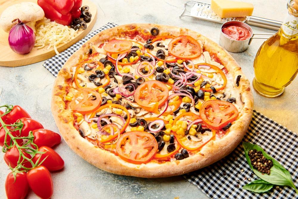 Pizza Vegetariana de post